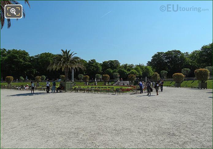 East Semicircular Parterre Jardin Du Luxembourg