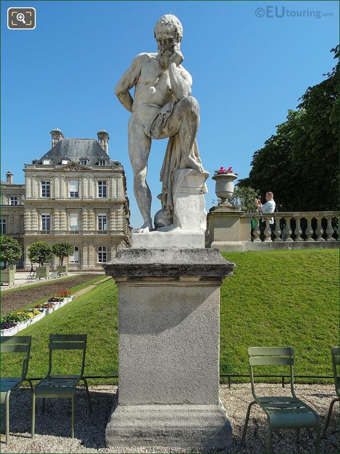 Jardin Du Luxembourg Marius Debout Sur Les Ruines De Carthage