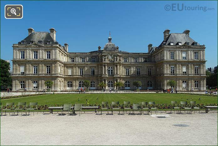 South Facade Of Palais Du Luxembourg Paris