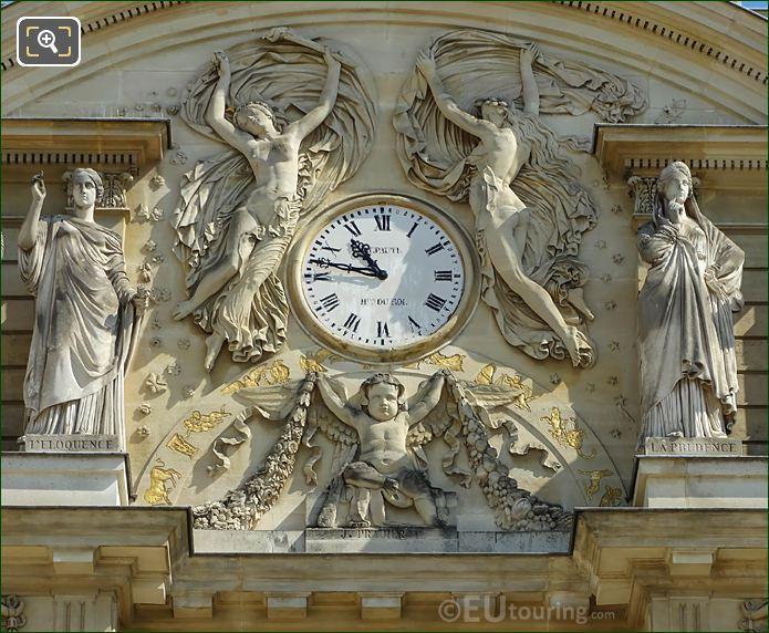 Palais Du Luxembourg Clock By Jean Baptiste Leupaute
