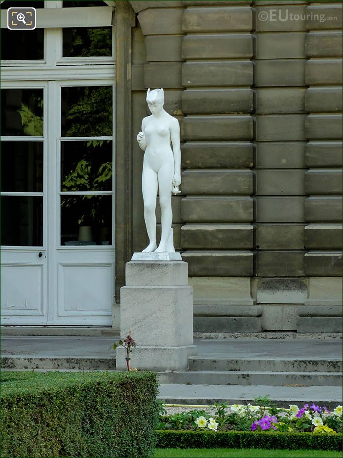 Psyche Under The Influence Of The Mystery Western Facade Palais Du Luxembourg