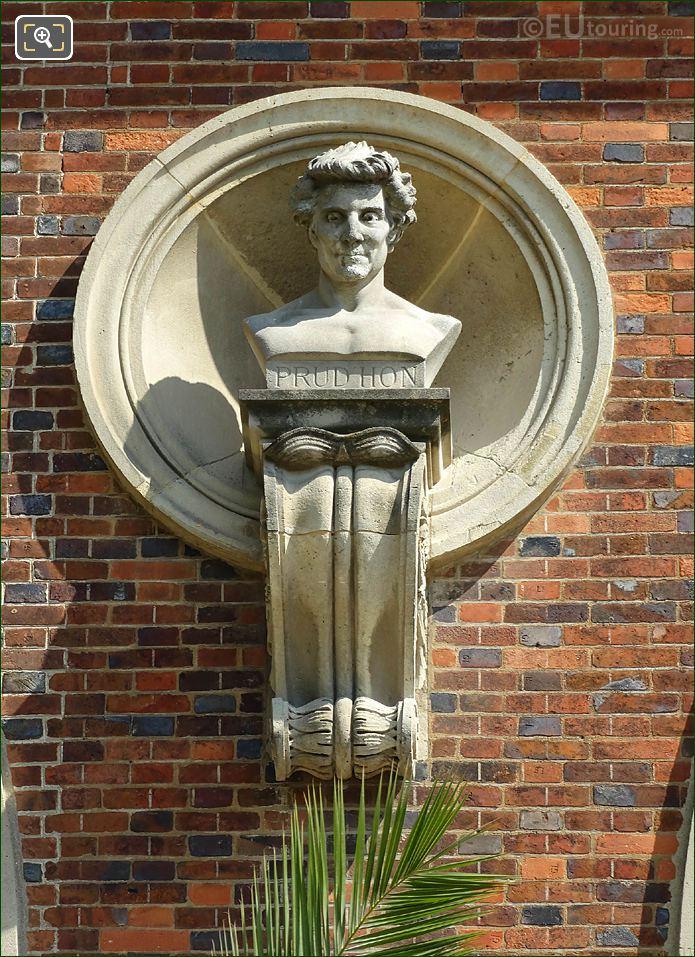 Jardin Du Luxembourg Prud'hon Bust On Orangerie