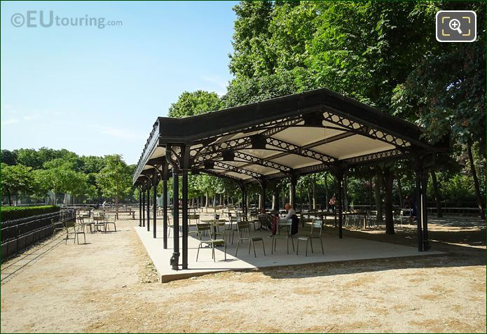Large Gazebo Building In Jardin Du Luxembourg