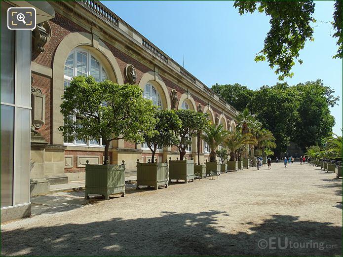 Luxembourg Gardens Orangerie South Facade