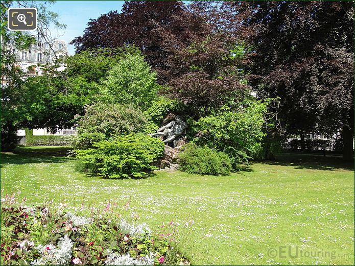 Jardin Du Luxembourg North West Corner Gardens