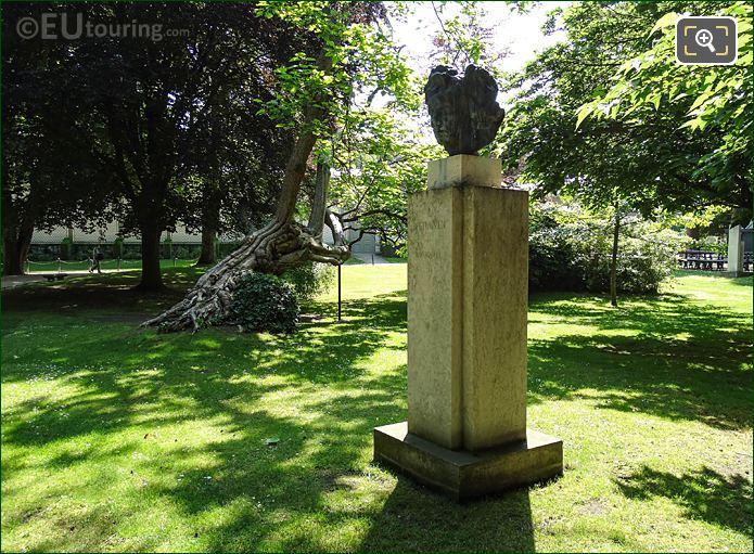 Jardin Du Luxembourg Ludvig Van Beethoven Monument NW Corner