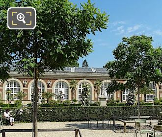 Jardin Du Luxembourg Orangerie Building On North West Side
