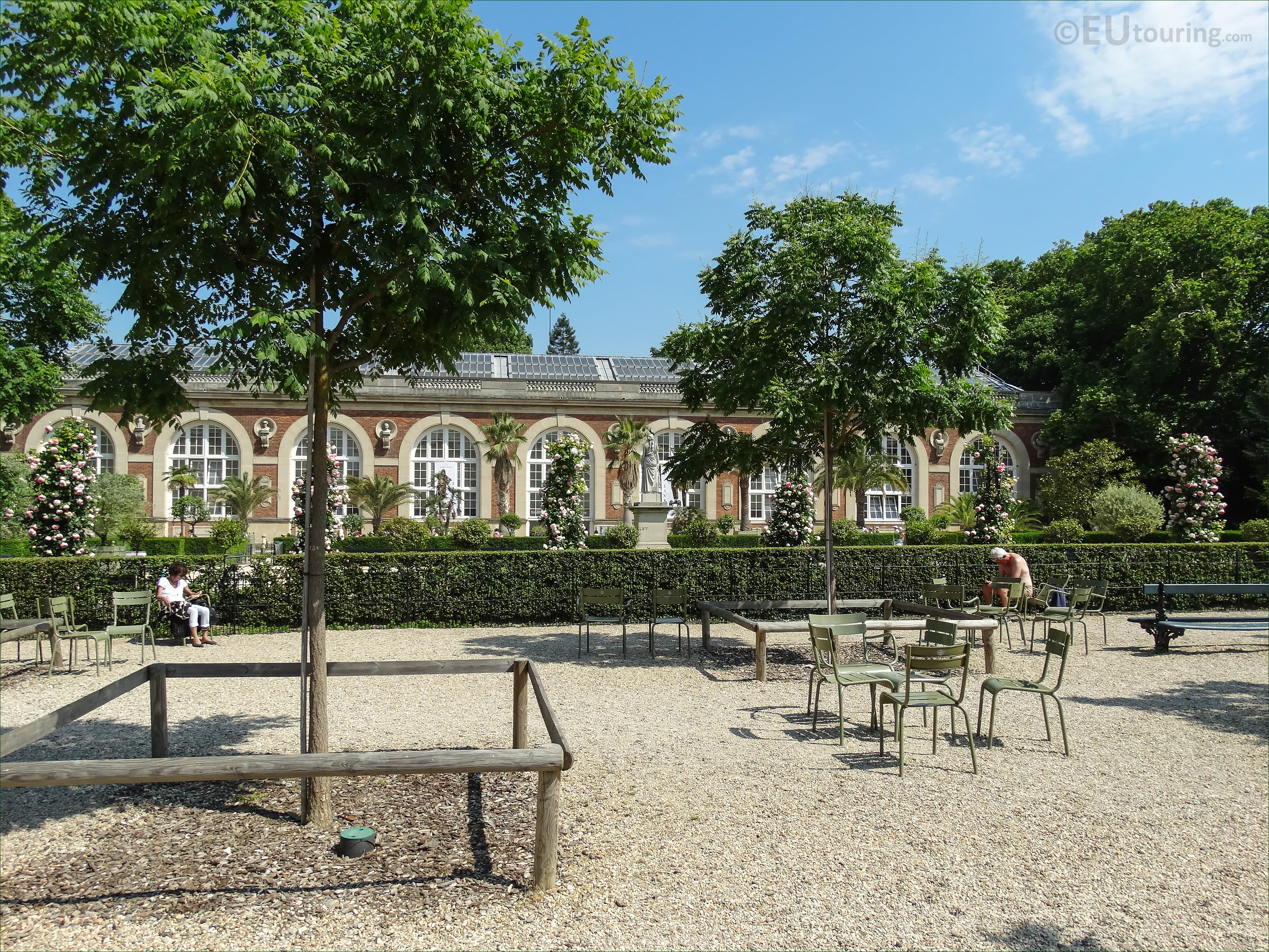 Photos of the orangerie building in jardin du luxembourg for Jardin du luxembourg