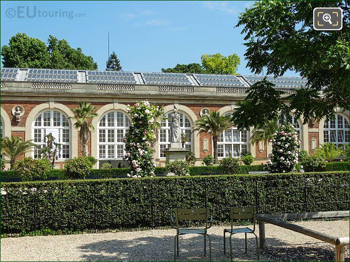 Jardin De La Roseraie Historical Rose Garden In Luxembourg Gardens