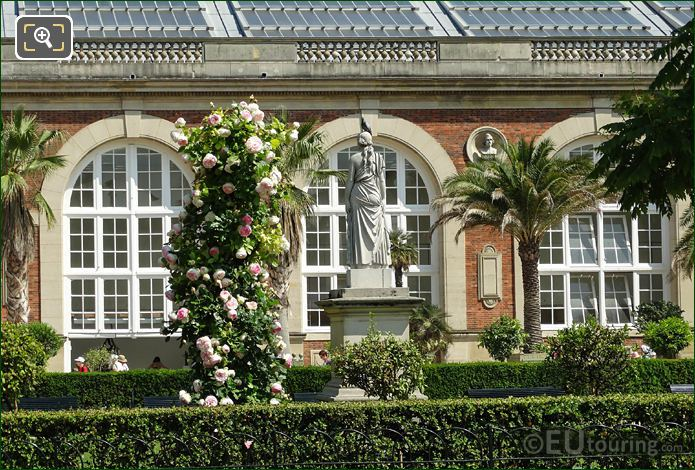 Rose Garden And Orangeries Arched Windows