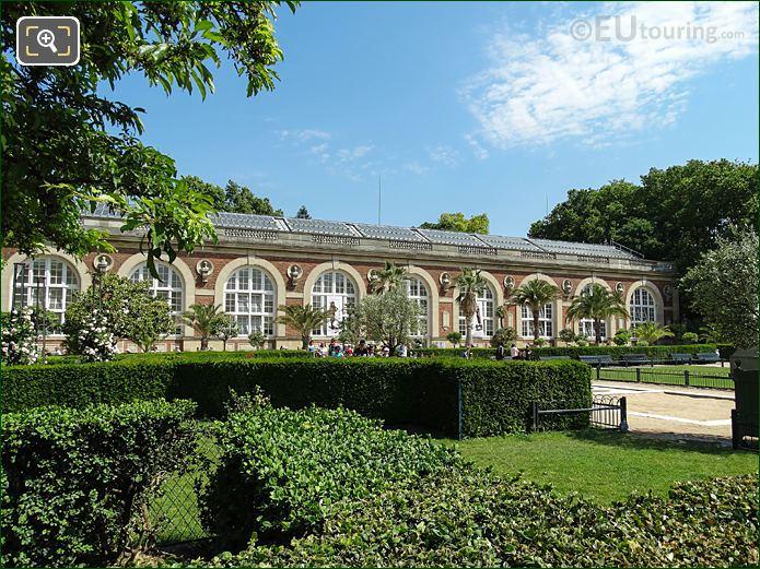 1800s Orangery North West Side Jardin Du Luxembourg