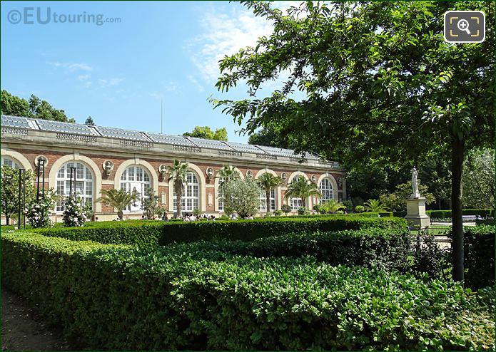 Luxembourg Gardens Orangery Building In Paris