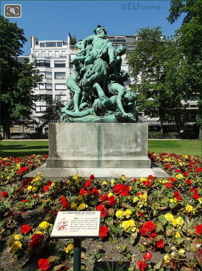 Le Triomphe De Silene Statue Group By Aime Dalou
