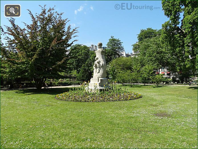 Westside Jardin Du Luxembourg And Paul Verlaine Monument