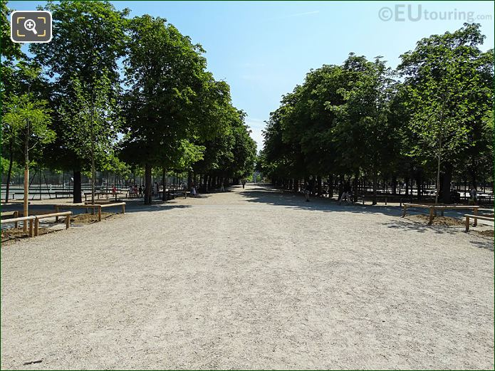 East View Jardin Du Luxembourg West Allee