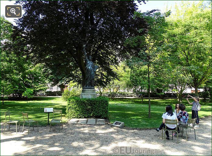 Jardin Du Luxembourg Statue Of Liberty East Side