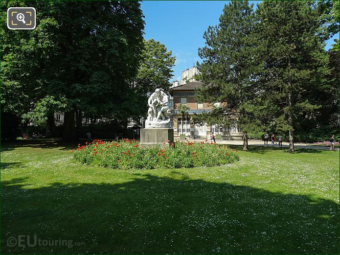 West View Jardin Du Luxembourg SW Gardens Pavillon Davioud