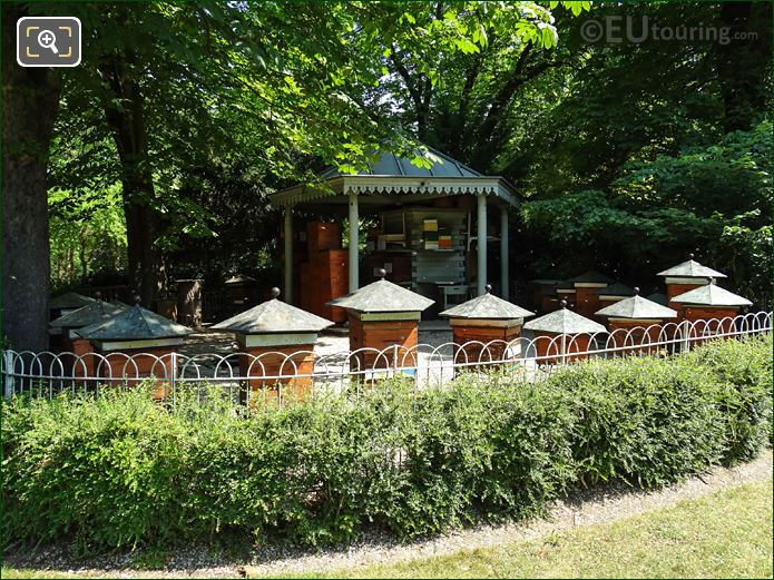 Beehive Farm In Luxembourg Gardens