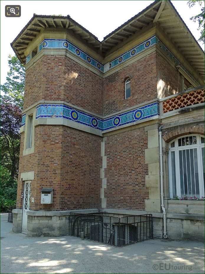 Back Facade Of Pavillon Davioud
