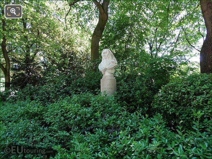 Jardin Du Luxembourg Comtesse De Segur Monument South West Corner
