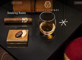Maison Athenee Smoking Room