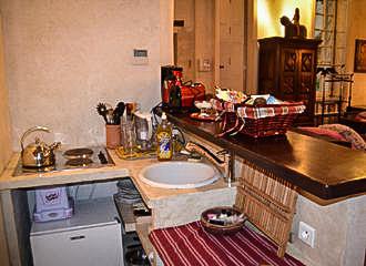 Maison d Anne Apartment Kitchenette