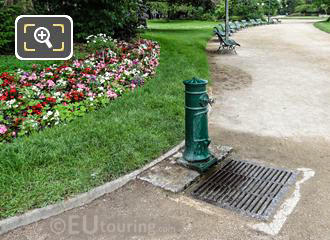 Drinking Water Fountain In Jardins Des Champs Elysees