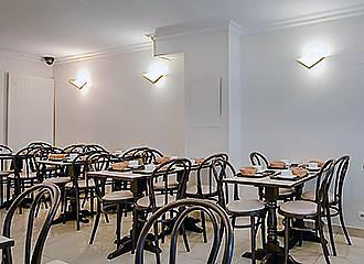 Marys Hotel breakfast room