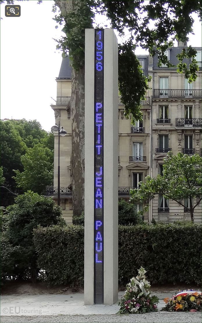 Photo Of Memorial National De La Guerre d'Algerie In Paris