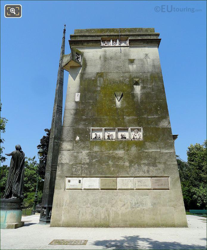Side View Of Monument des Droits de L'Homme