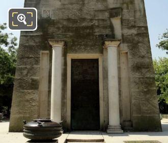 Back View Of Monument des Droits de L'Homme