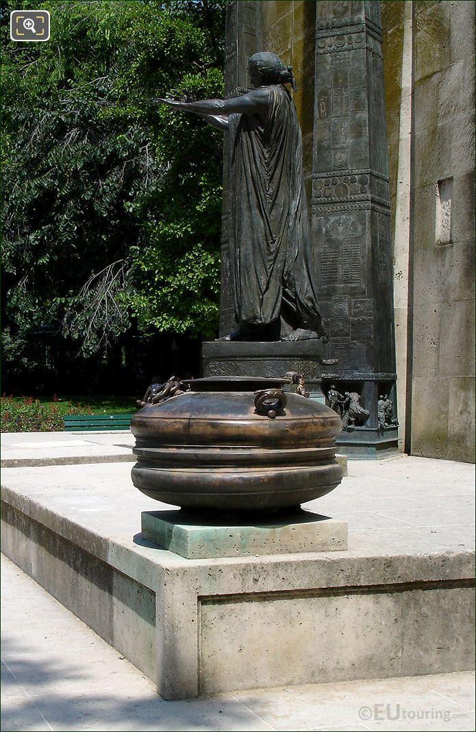Monument Des Droits De L'Homme In Paris