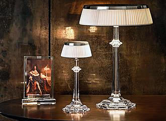 Musee Baccarat Crystal Lamps