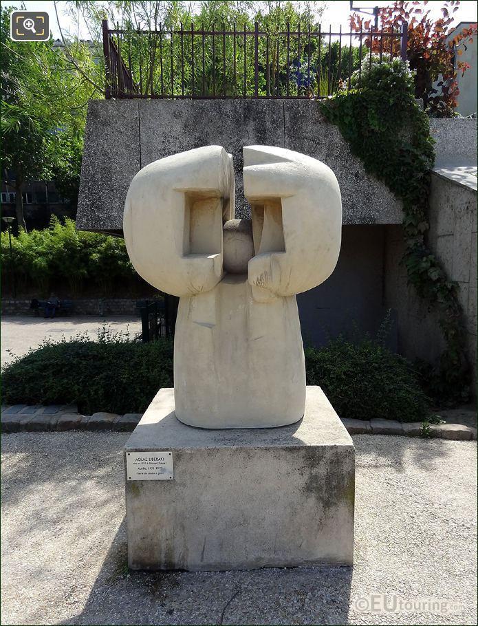 Abellio Sculpture By Aglae Liberaki