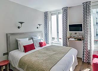 My Open Paris double room