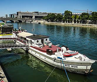Nix Nox Barge Paris