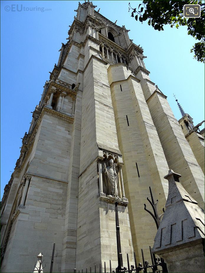 South Tower Of Notre Dame Cathedral
