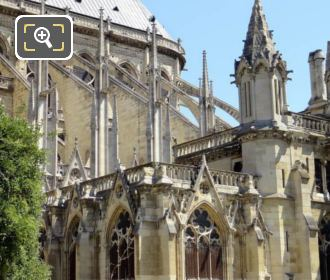 Notre Dame South Side Flying Butresses