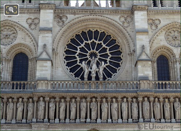 Notre Dame Front Rose Window