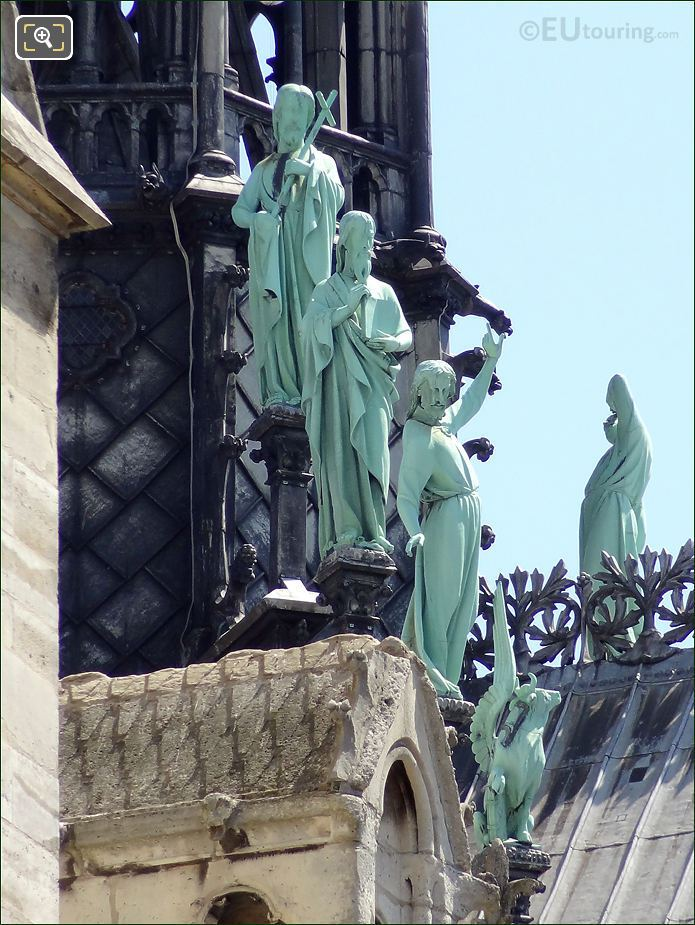 Notre Dame Cathedral Apostles
