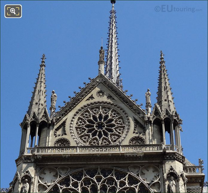 Notre Dame Cathedral Steeples