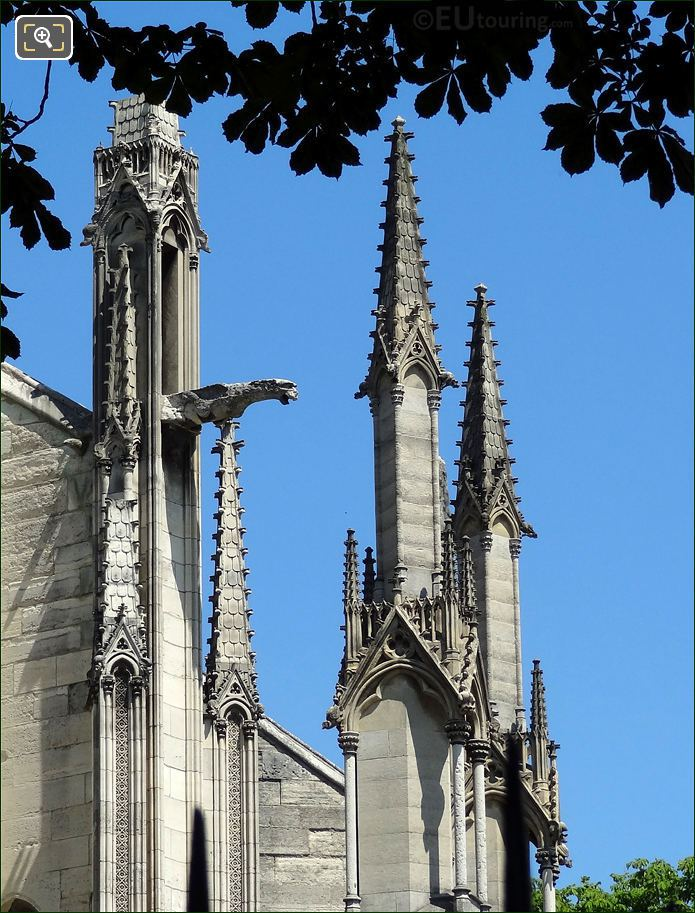 Notre Dame Cathedral Stone Steeples