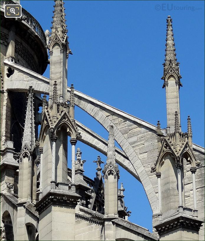 Notre Dame Cathedral Spires