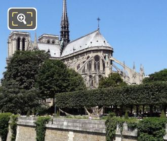 Notre Dame And Its Gardens