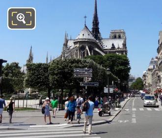Roads Around Notre Dame