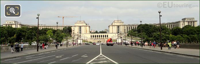 Palais De Chaillot Two Wings