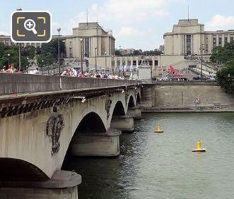 Pont d'Iena With Palais De Chaillot
