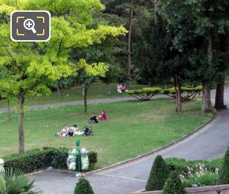 Palais Chaillot Gardens