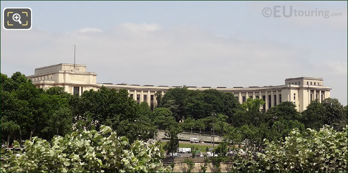 Palais De Chaillot Right Hand Wing