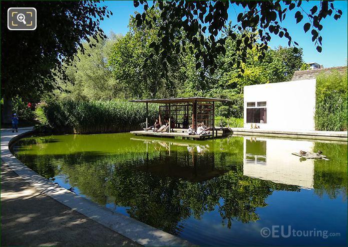 Parc De Bercy Water Pergola